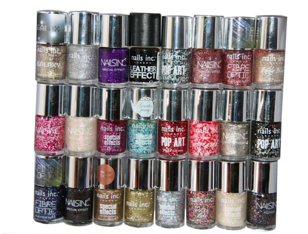 24 x Nails Inc Nail Polish 19 Shades RRP 336 Wholesale Job Lot ...